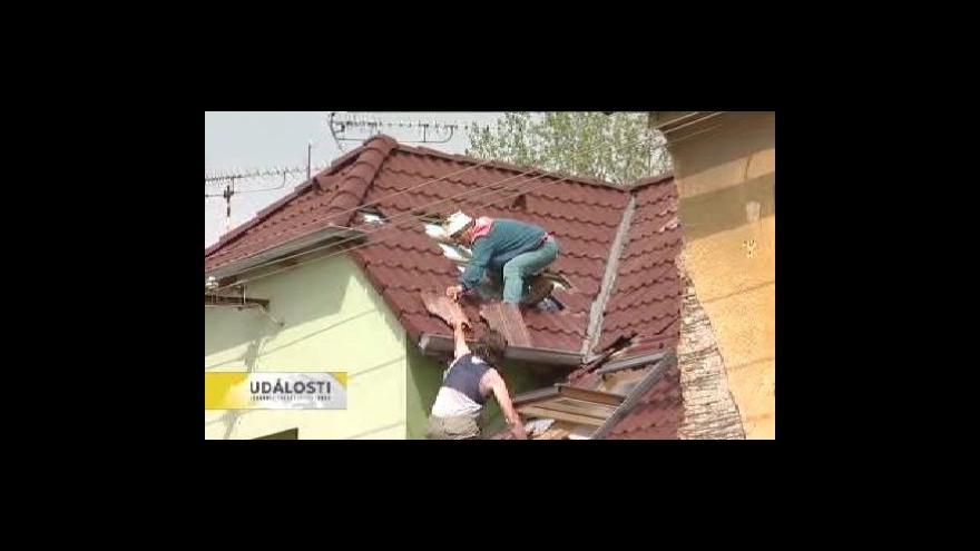Video Následky noční bouře