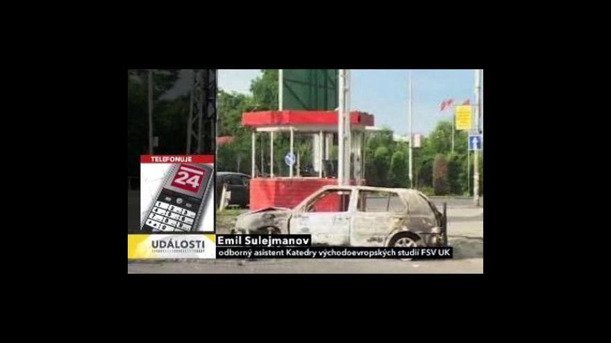 Video Telefonát Emila Sulejmanova