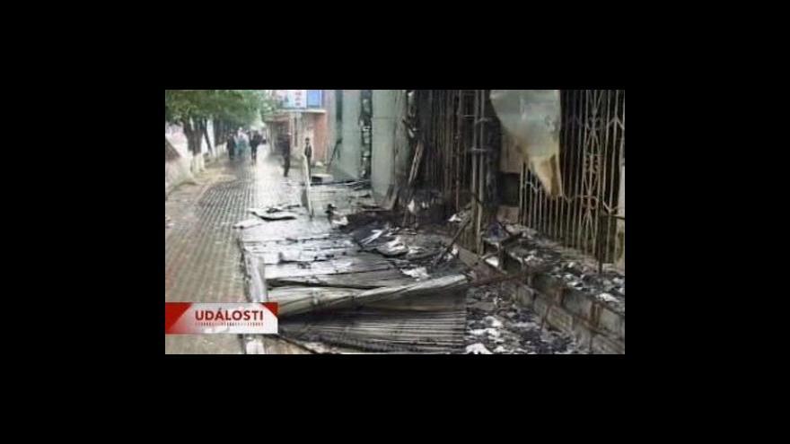 Video Kyrgyzstán na prahu občanské války