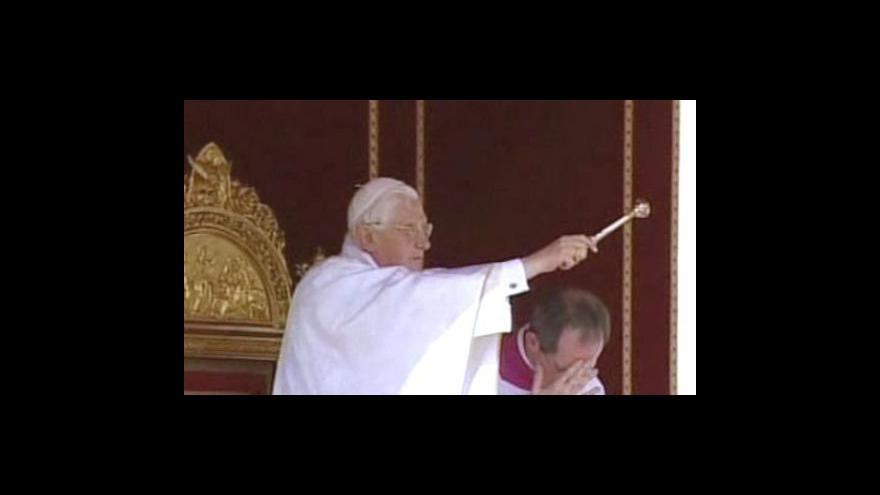 Video Benedikt XVI. žádá o odpuštění