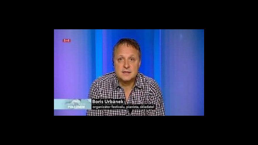 Video Rozhovor s Borisem Urbánkem
