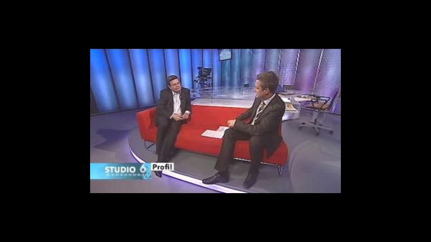 Video Alexandr Vondra hostem Studia 6