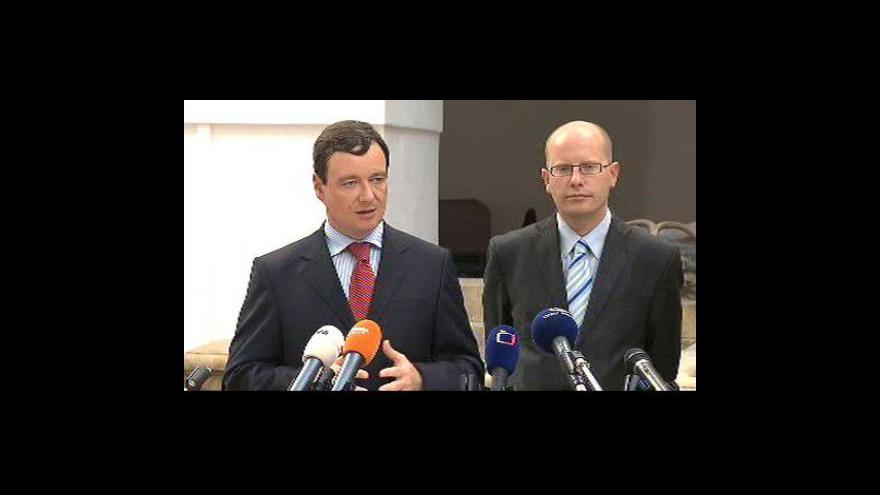 Video Brífink ČSSD po jednání poslaneckého klubu