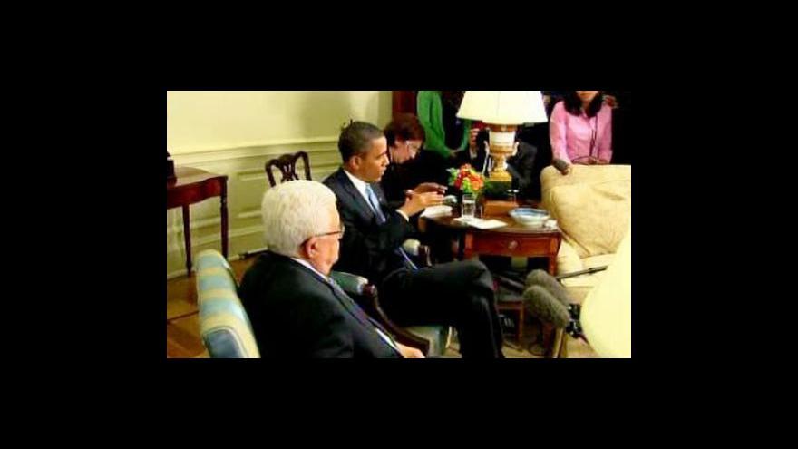 Video Obama a Abbás se vyslovili pro novou politiku v Gaze