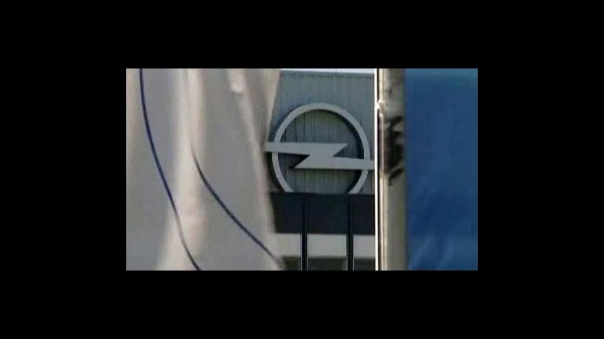 Video Německo Opelu nepomůže