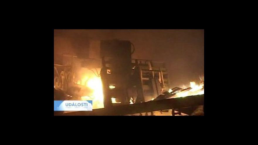 Video Ozbrojenci napadli v Pákistánu konvoj NATO