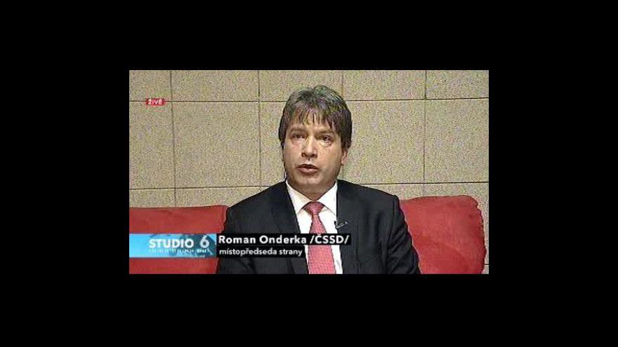 Video Rozhovor s Romanem Onderkou