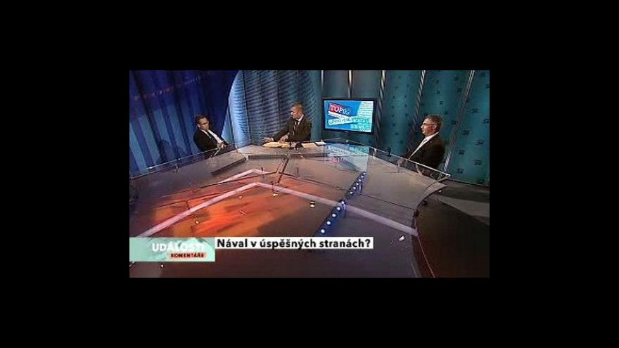 Video Rozhovor s J. Dobešem (VV) a J. Vitulou (TOP09)