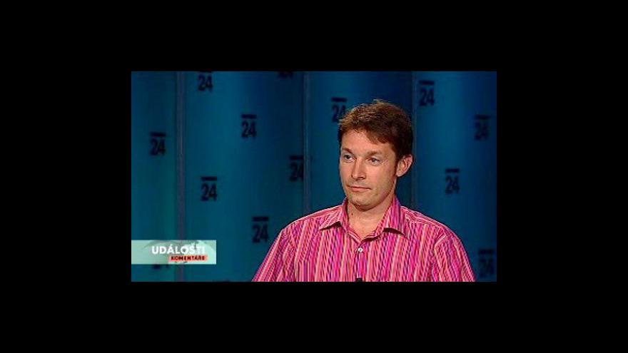 Video Rozhovor s dopravním expertem Robertem Šťastným