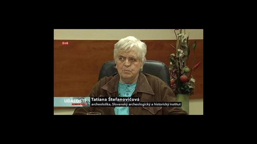 Video Tatiana Štefanovičová v Událostech, komentářích