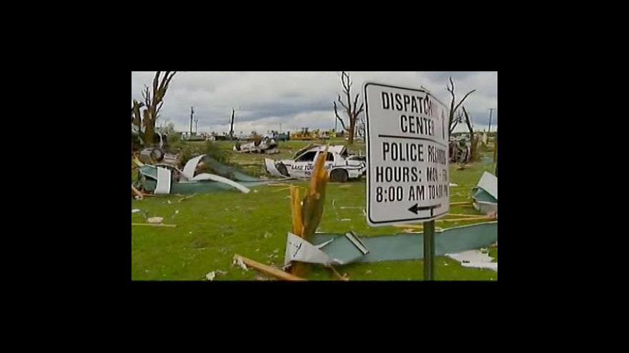 Video Tornádo v Ohiu zabilo sedm lidí