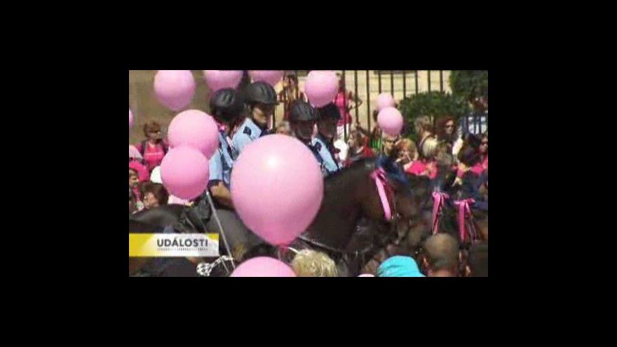 Video Markéta Hýlová informuje o pochodu
