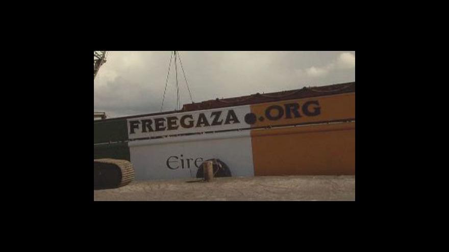 Video Izraelské síly obsadily loď mířící do Gazy