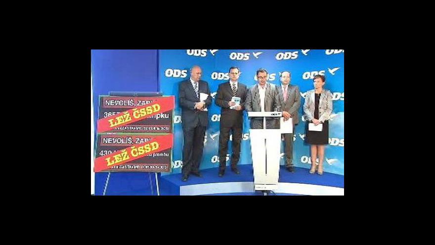Video Brífink ODS ke zdravotnictví