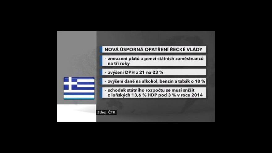 Video Německá vláda pro pomoc Řecku