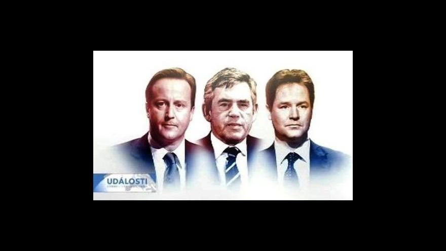 Video Ekonomika v závěrečné televizní debatě v Británii