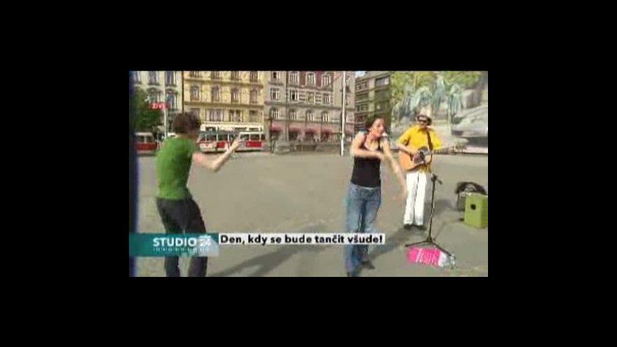 Video Mezinárodní den tance: Vstup z Palackého náměstí
