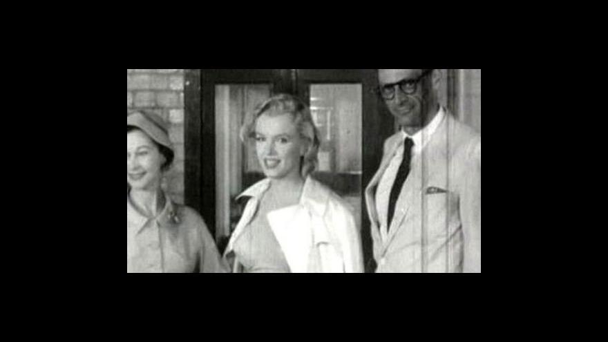Video Marilyn Monroe jako spisovatelka