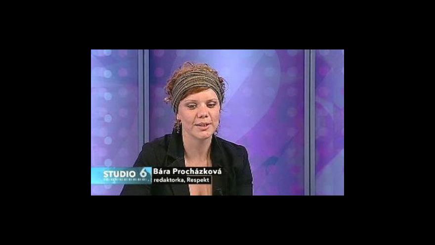 Video Rozhovor s Bárou Procházkovou