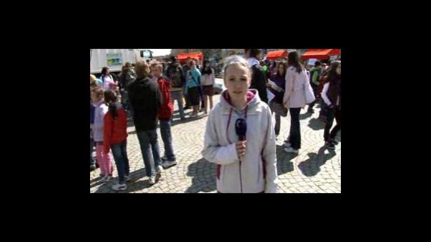 Video Reportáž Kateřiny Tomanové