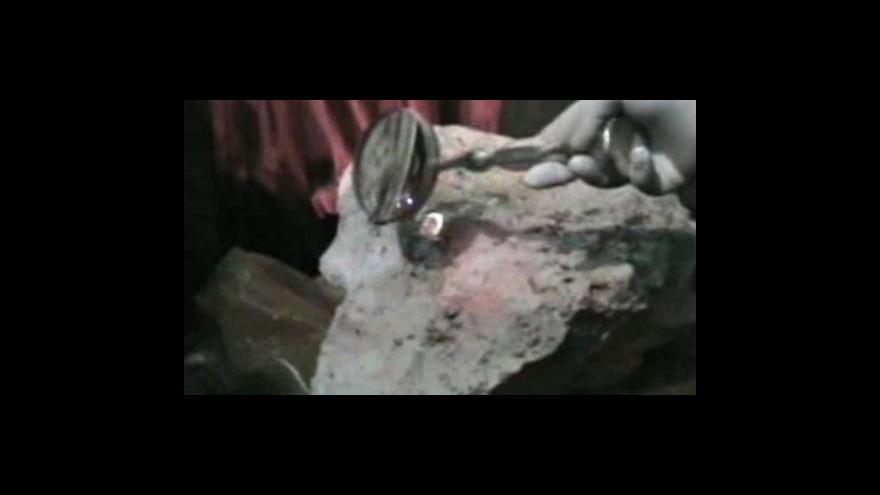 Video Objevena Noemova archa