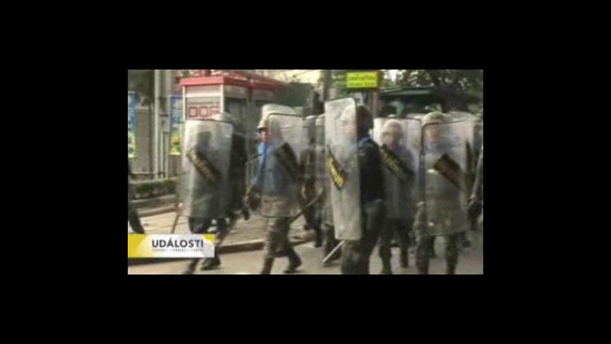 Video V Bangkoku se opět střílelo