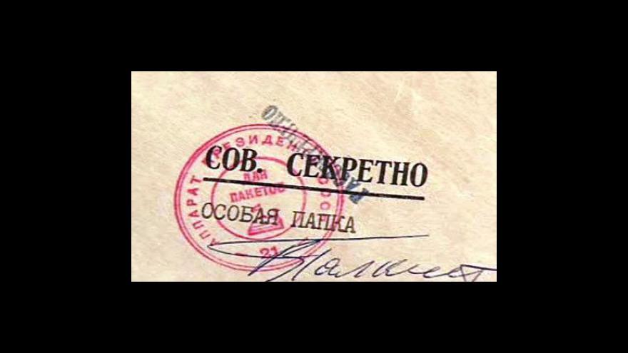 Video Rusko odtajnilo dokumenty o Katyni