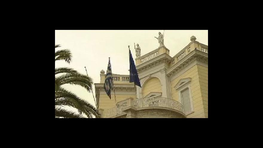 Video Van Rompuy: Bankrot Řecka nepřipadá v úvahu