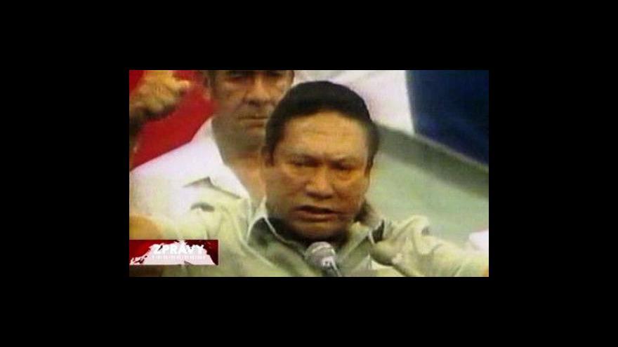 Video Noriega přiletěl do Francie, kam ho vydaly USA