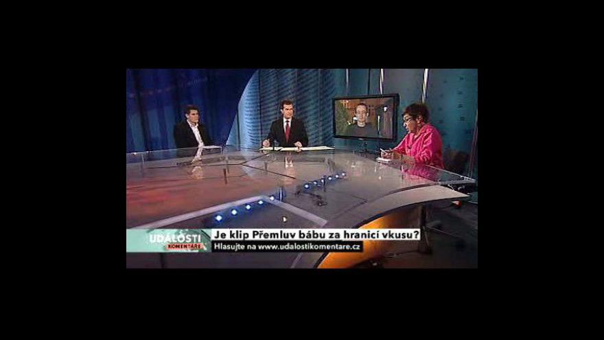 Video Rozhovor s Jiřinou Šiklovou, Petrem Zelenkou a Janem Pechem