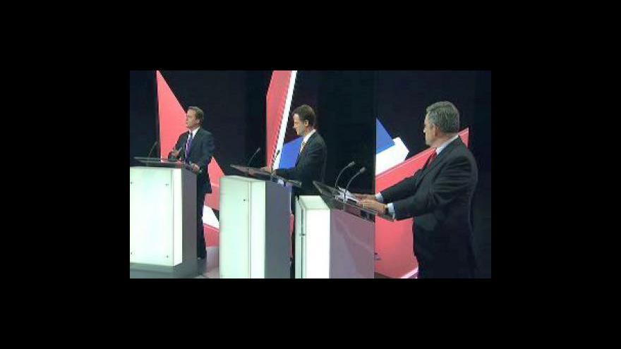 Video Předvolební debata ve Velké Británii