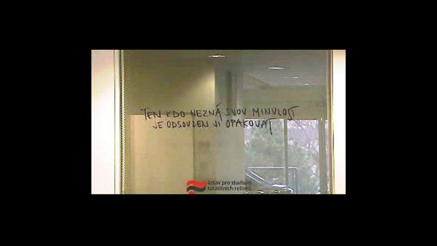 Video Studio ČT24  o situaci v ÚSTR