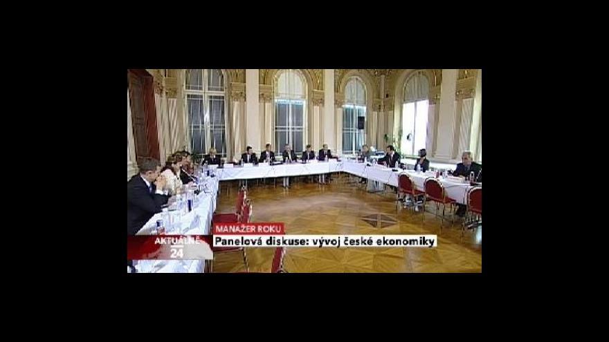 Video Manažer roku - panelové diskuse