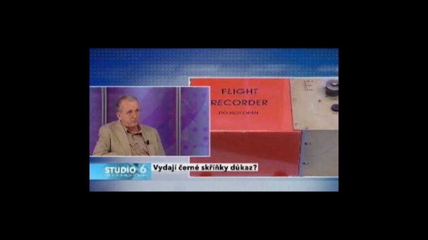 Video Jaké vydají černé skříňky svědectví