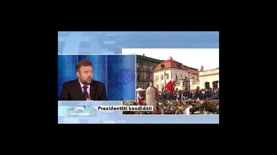 Video Miroslav Karas o volbě polského prezidenta