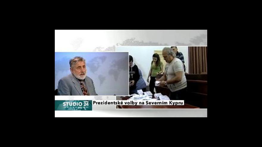 Video Studio ČT24 o volbách v Severním Kypru