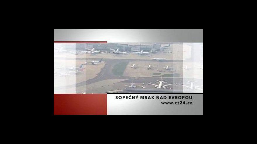 Video Události, komentáře o zavřeném evropském nebi