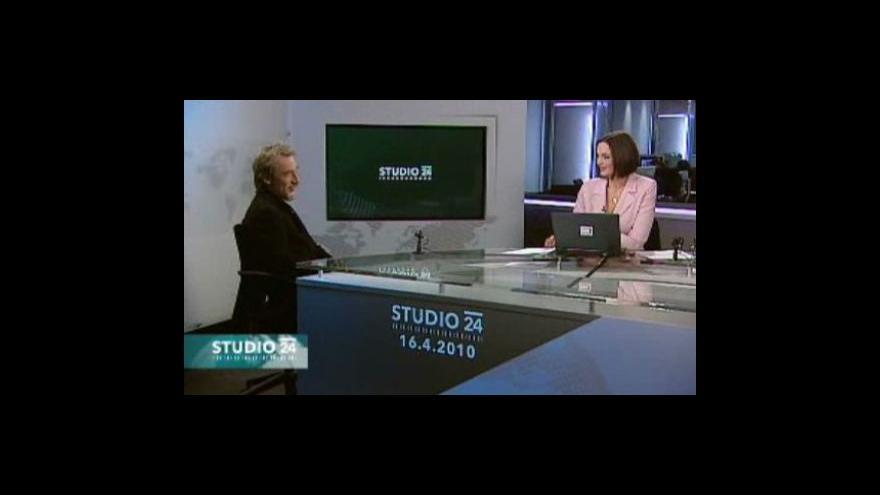 Video Studio ČT24 - Smutek v Polsku
