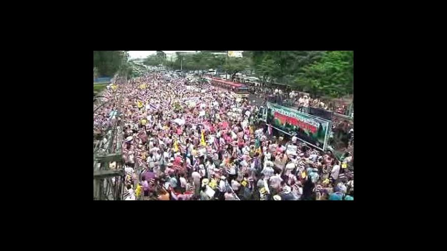 Video Armáda převzala v Thajsku moc