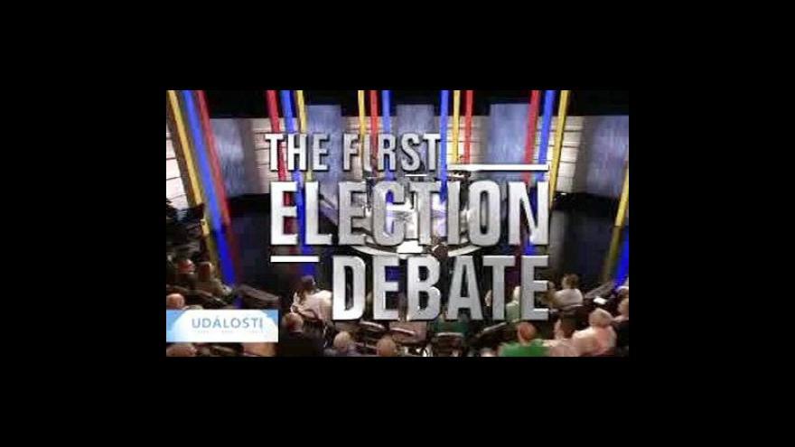 Video Šéfové tří britských stran se střetli v televizní debatě