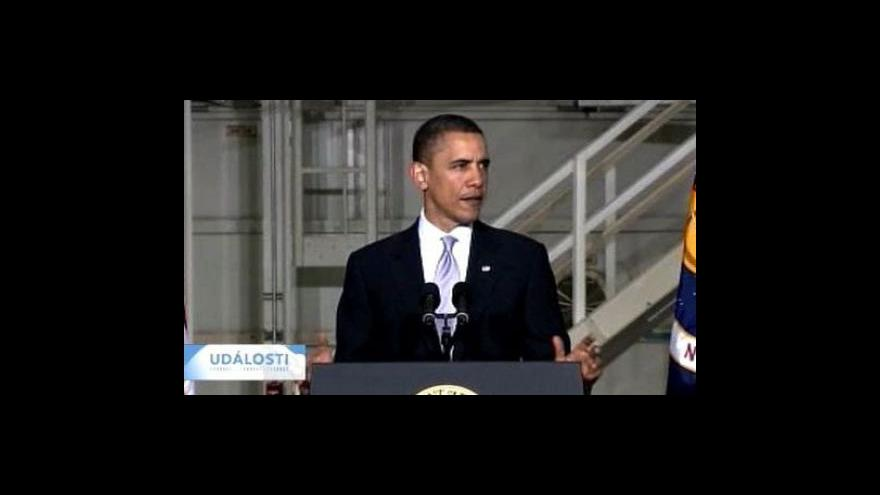 Video Obama nastínil nové úkoly NASA