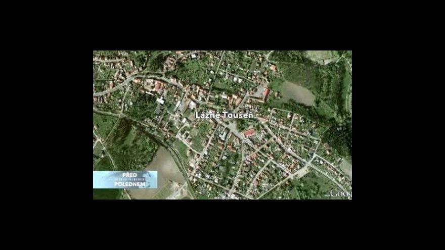 Video Studio ČT24 o privatizaci Lázní Toušeň