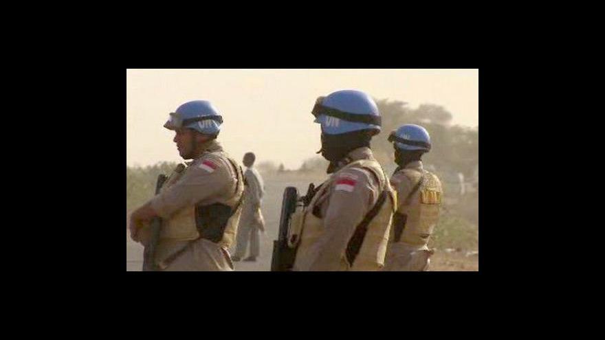 Video Únos modrých přileb v Súdánu