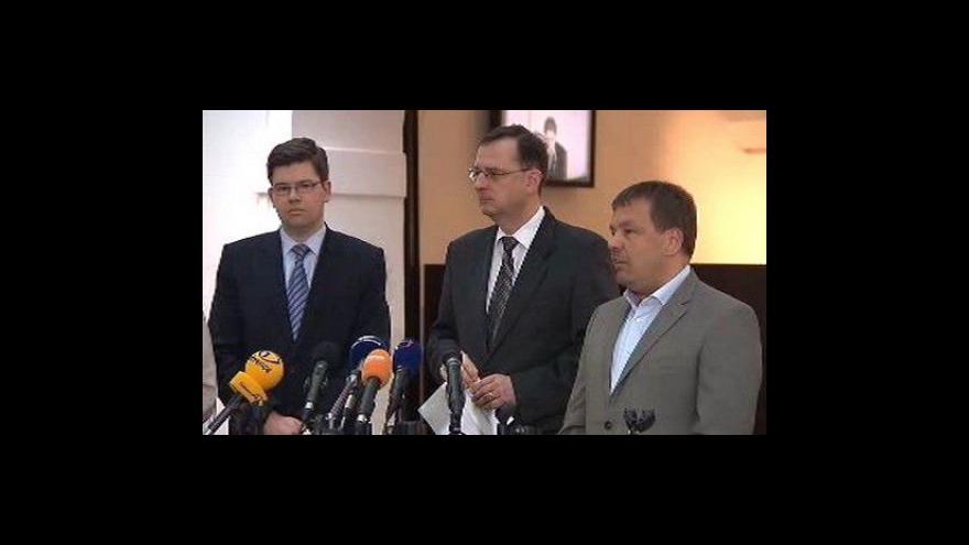 Video Brífink ODS k Vlčkově dotaci