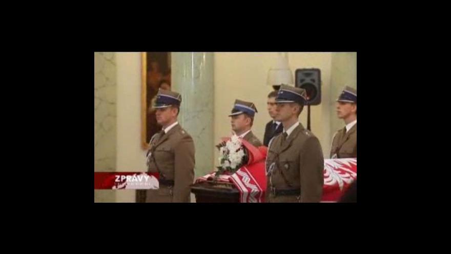 Video Polsko rozděluje místo posledního odpočinku zemřelého prezidenta