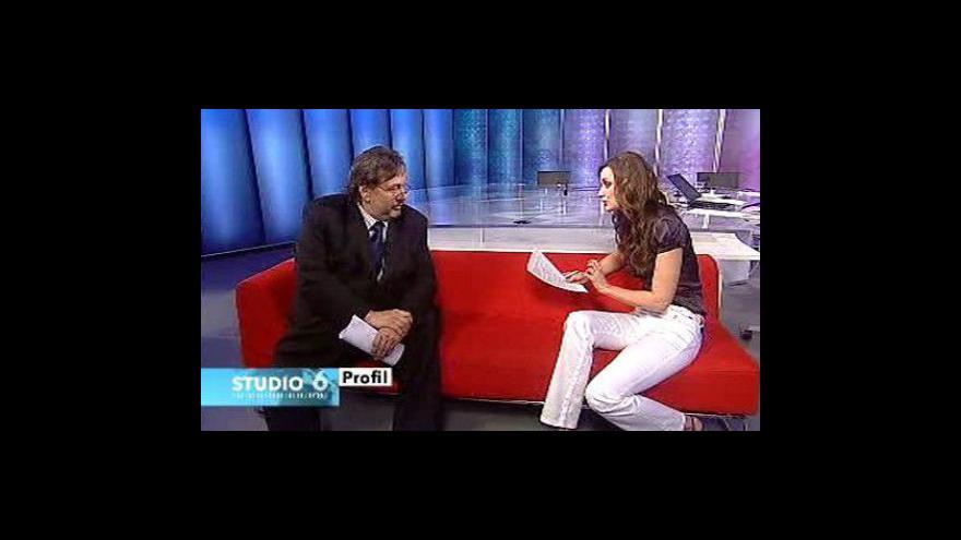 Video Milan Jančík ve Studiu ČT24