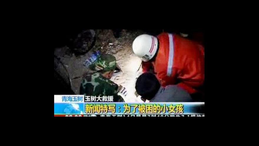 Video Studio 6 k zemětřesení v Číně