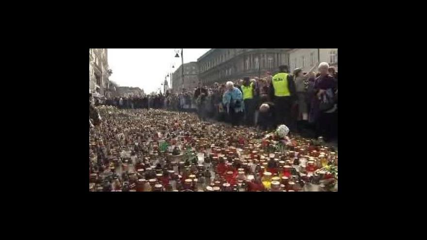 Video Polsko ochromeno smutkem