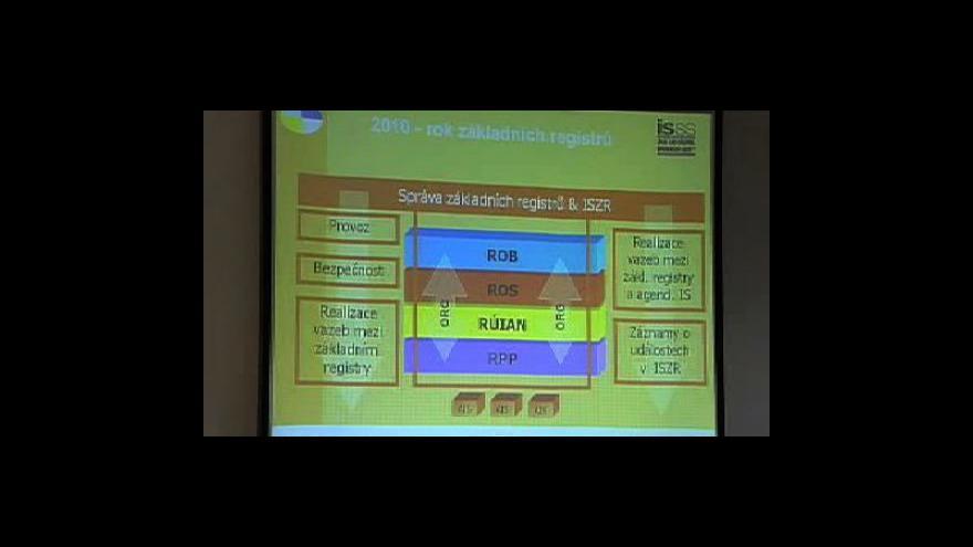 Video Brífink ministerstva vnitra k eGovernmentu