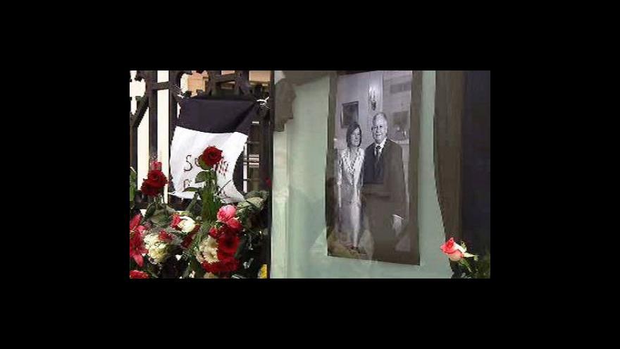 Video Státní smutek v Česku